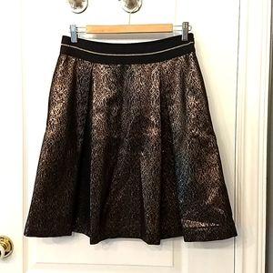 Black & gold Vince Camuto Skirt size 8